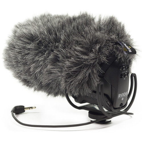 RODE DeadCat VMPR The DeadCat VMPR is a furry wind cover for the VideoMic Pro-R