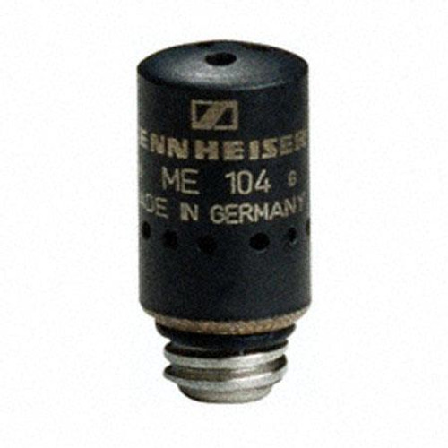 Sennheiser ME104 Cardioid black capsule head for KA100 cable with MZW104 windscreen