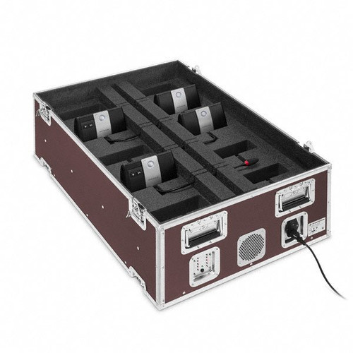 Sennheiser ADN-WCASEUNITS-US Modular ADN-W case component stores and charges (10) ADN-W D1/C1 stations.  Requires ADN-WCASEBASE, main