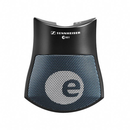 Sennheiser e901 Professional pre-polarized half-cardioid boundary layer condenser for bass drum, piano and low-frequency instruments. 1 lb, 2.4 oz., main