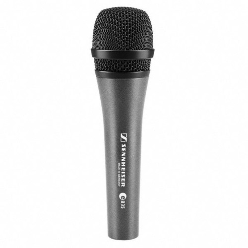 Sennheiser e835 Handheld cardioid dynamic with MZQ800 clip. 11.6 oz., main