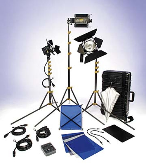 Lowel DVcreator Kit 1 (with soft case and lamps) by Lowel