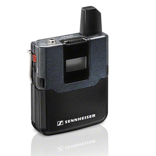 Sennheiser SK D1 EW D1 bodypack transmitter. 2.4 GHz, 10 mW / 100 mW (country-specific)