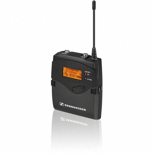 Sennheiser EK2000-Bw Portable single-channel diversity receiver.   Frequency range Bw (626 / 698 MHz), main