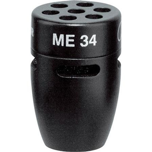 Sennheiser ME34 IS Series cardioid condenser capsule head, includes windscreen (1.0 oz)