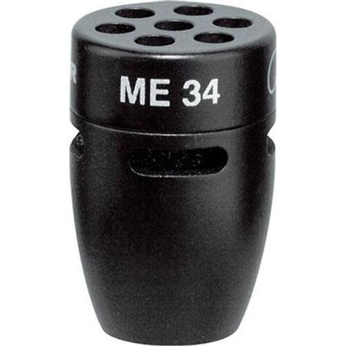 Sennheiser ME34 IS Series cardioid condenser capsule head, includes windscreen (1.0 oz)