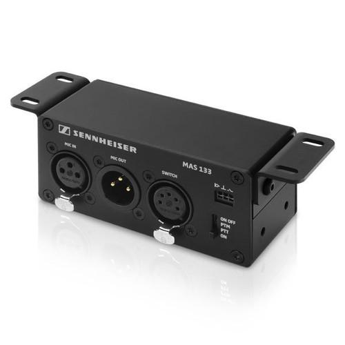 Sennheiser MAS133 Speechline Inline Logic Box with (2) XLR-3 for audio and (1) XLR-5 for control (via MAS 1)