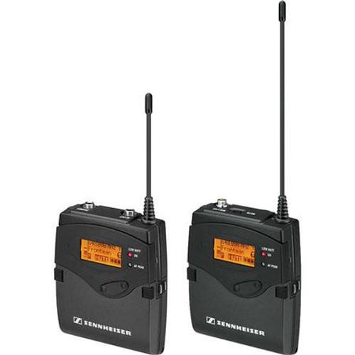 Sennheiser 2000ENG-SK-B Single Channel ENG System: (1) SK 2000XP bodypack transmitter; (1) EK 2000 portable recevier.  Frequency range Bw (626 / 698 MHz), main