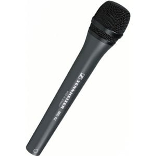 Sennheiser MD42 Handheld omni-directional dynamic microphone for field ENG. MZQ800 clip not included. (15 oz)