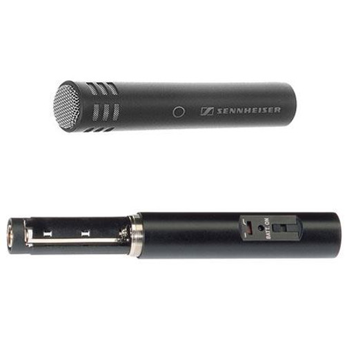 Sennheiser ME62/K6COMBO Omnidirectional microphone system (phantom or battery power). Includes MZQ 2000 Clip and a K6C-SM Case.