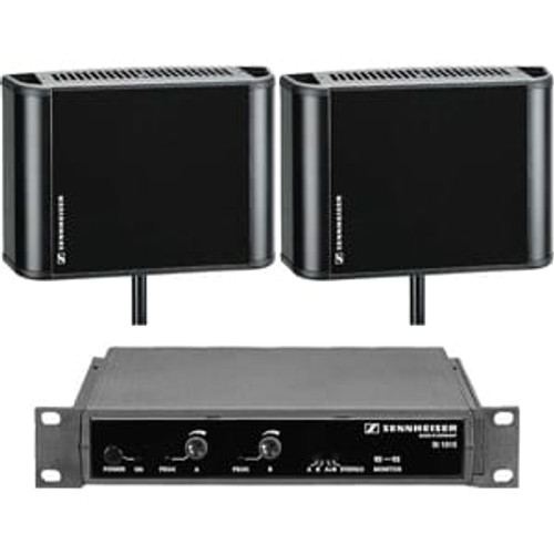 Sennheiser SI1015-12500DUAL 2.3/2.8 MHz infrared system package to cover 12,500 sq ft in dual channel mode
