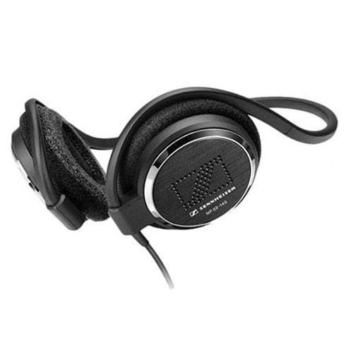 Sennheiser NP02-140 On-ear neckband headphones (55 in. cable, 90° plug). Box of 20