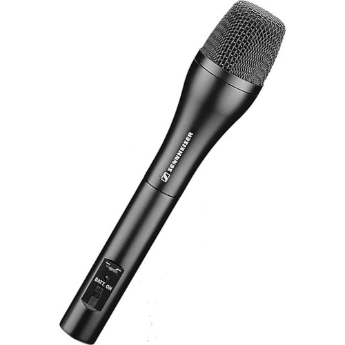 Sennheiser ME65/K6COMBO Supercardioid microphone system (phantom or battery power). Includes MZQ 2000 Clip and a K6C-SM Case.