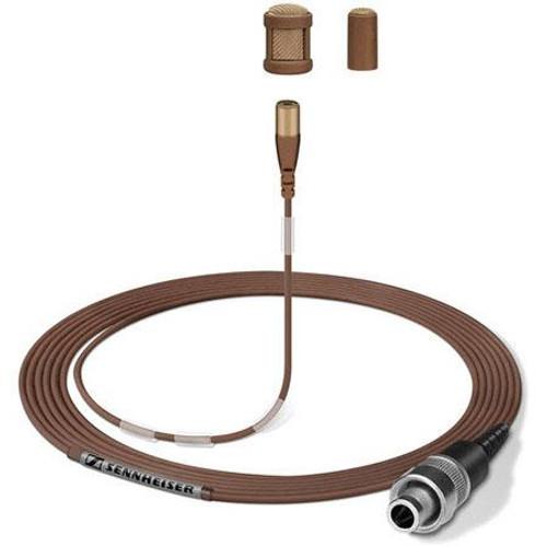 Sennheiser MKE1-4-2 Ultra-miniature omni lavalier mic (brown)