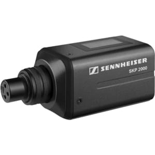 Sennheiser SKP2000XP-Aw Plug-on transmitter with 48v phantom power.  Frequency range Aw (516 / 558 MHz)