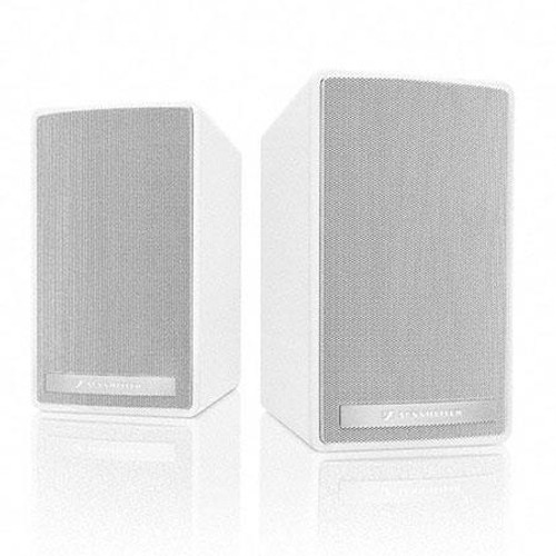 Sennheiser SL 52 A W Active loudspeaker, white. Delivery includes wall mount bracket/hardware and 4 ft. power cable.