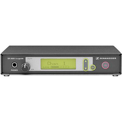 Sennheiser SR2020-D-US Single channel rack-mountable transmitter (926-928 MHz), up to 8 selectable channels. Includes NT92-120 power supply and GA2 rack adapter.