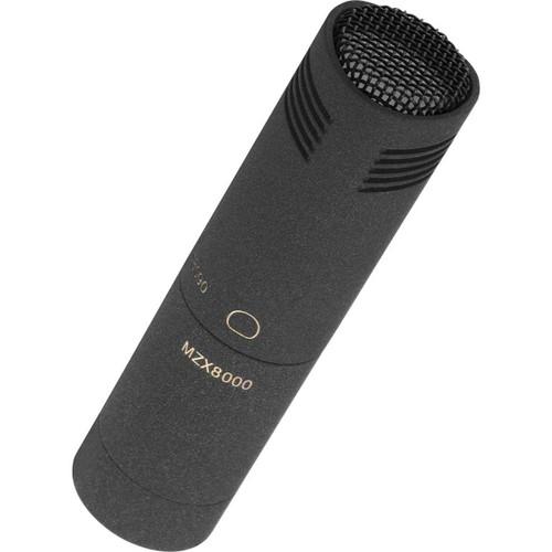 Sennheiser MKH8090 HF condenser microphone set, with MKH 8090 (wide cardioid), MZW 8000 and MZQ 8000, in transport case, nextel black