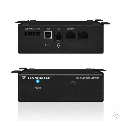Sennheiser TEAMCONNECT BNDL S FIX TeamConnect System Bundle Standard for Fixed applications with up to (8) participants.  Includes: (1) SL TeamConnect CU1, (1) SL TeamConnect CB1, (1) SL Mic Hub 1, (2) SL Loudspeaker 52 A W, (4) MEB 104-L TC B, (1) MAS 1-TC B, (1) MAS 2-TC B.
