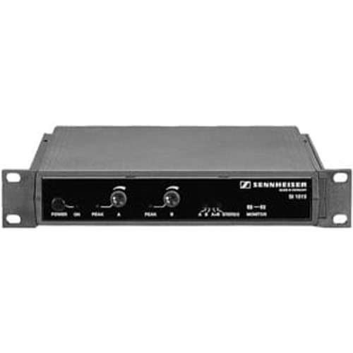 Sennheiser SI1015/NT Rack-mountable, half rack size two channel 2.3/2.8 MHz modulator, with NT1015-120 power supply.  Requires GA1031-CC rack adapter (order separately)