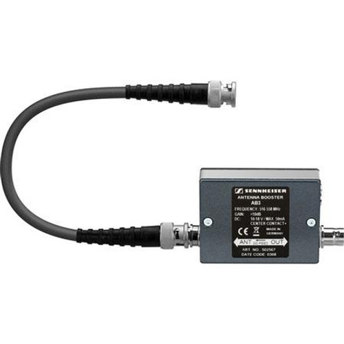 Sennheiser AB3-G Antenna booster module with +10 dB gain and 42 MHz bandwidth. (566-608 MHz), main