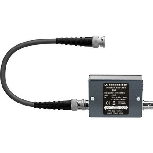 Sennheiser AB3-B Antenna booster module with +10 dB gain and 42 MHz bandwidth. (626-668 MHz), main