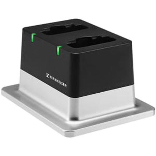 Sennheiser CHG 2 US 2-bay table top charger with US power supply, main