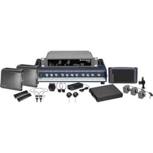 Sennheiser ADA4000Single 2.3 MHz single channel infrared system package for ADA compliance. Coverage up to 4,000 sq ft., main