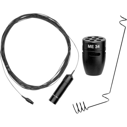 Sennheiser I30H-C ME34 cardioid capsule, MZC30 cable and MZH30 ceiling hanger