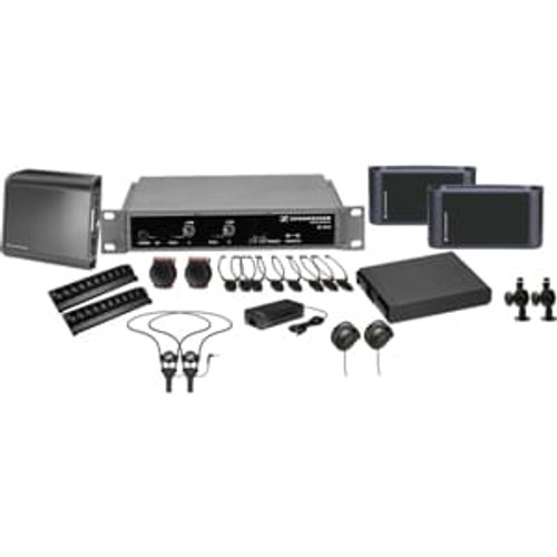 Sennheiser ADA8000Single 2.3 MHz single channel infrared system package for ADA compliance. Coverage up 8,000 sq ft., main