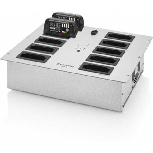 Sennheiser ADN-WL10-US Battery charger, capable of charging up to 10 AND-W rechargeable batteries, main
