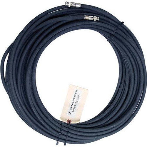 Sennheiser RG9913F-100 Low-loss RF antenna cable, 100 ft. with BNC connectors