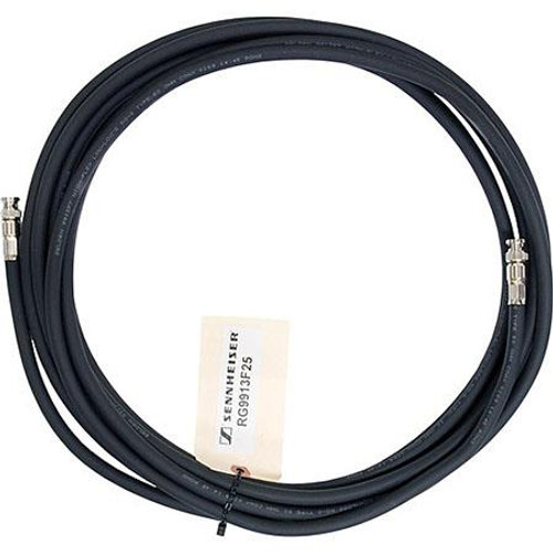 Sennheiser RG9913F-25 Low-loss flexible RF antenna cable, 25 ft. with BNC connectors