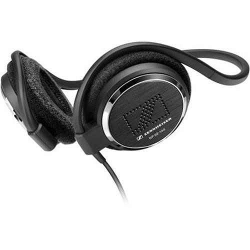 Sennheiser NP02-100 On-ear neckband headphones (standard 39 in. cable). Box of 20