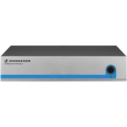 "Sennheiser ASA1/NT Active antenna splitter with DC power distribution for G3 receivers, includes required NT1-1 US power supply and eight 20"" BNC cables, main"