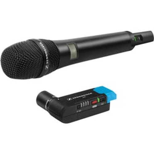 Sennheiser AVX-835 SET-4-US Handheld Set: Includes handheld transmitter with e835 capsule and EKP plug-on receiver, main