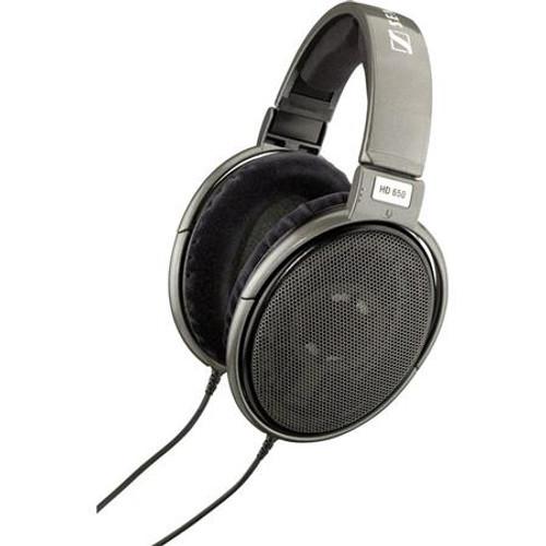 Sennheiser HD650 Open-Aire, audiophile-grade hi-fi stereo headphones