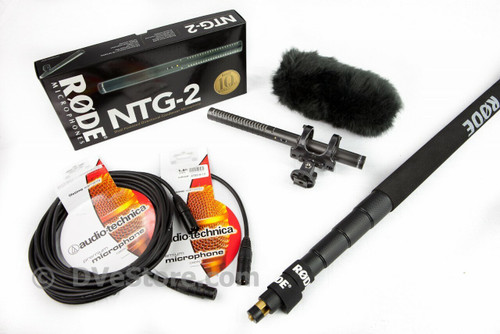 DVcreator Location Sound Package 1 - RODE NTG-2