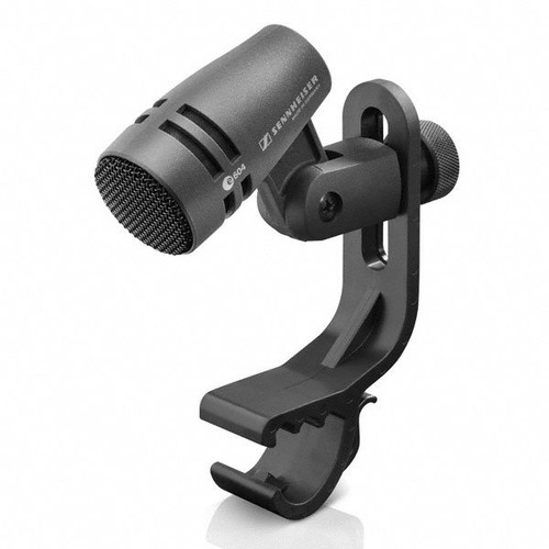 Sennheiser e604 Cardioid dynamic with stand mount and MZH604 mount for drum rims and suspension mounts. 2.1 oz., main