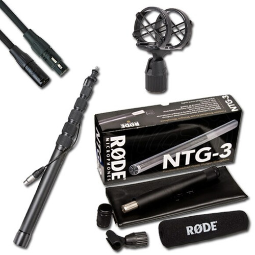 DVcreator Location Sound Package 3 - RODE NTG3