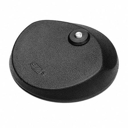 Sennheiser MZT100 Heavy duty round table stand with skid-resistant rubber base, fits any 3/8 in threaded microphone clamp (3.15 lbs)