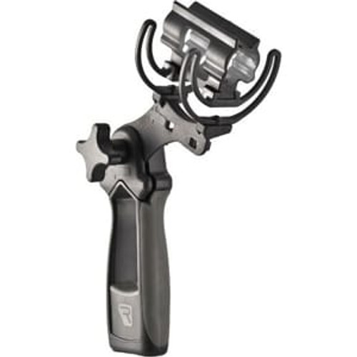 Rycote 033702 Softie Duo-Lyre® Mount with Pistol Grip Handle, Fits 19-34mm mics and Sennheiser MKH 50/40