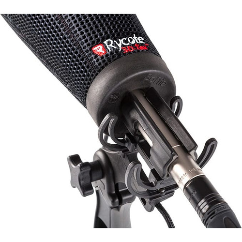 Rycote 033202 15cm Super-Softie, Standard Hole (19/22), Premium push-on Windshield with 3D-Tex™