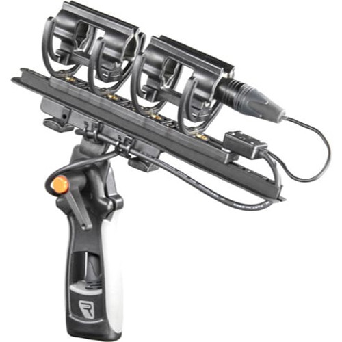 Rycote 040145 Modular Suspension Medium (XLR-5F) 68 Duo, includes XLR 5-pin Connbox and 68 shore Duo-Lyres, for Windshield 4