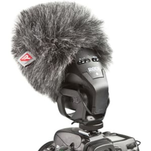 Rycote 055430 Mini Windjammer for Rode Stereo Videomic Pro