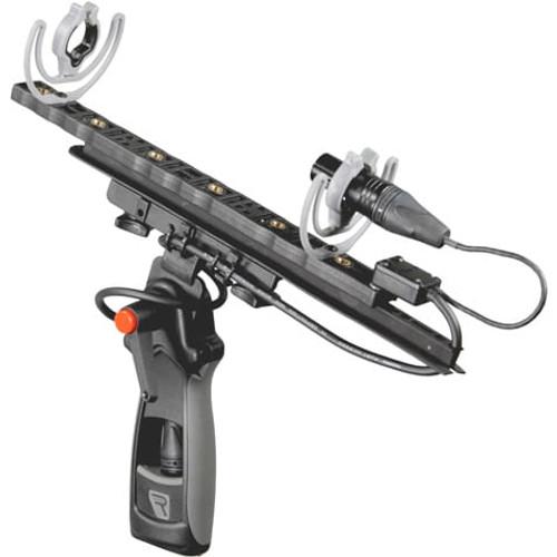 Rycote 086070 Modular Windshield 6 Kit (XLR-5), w/ Connbox 4: Suspension Mounts, Pistol Grip, Connbox 4