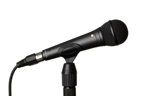 RODE M1 Dynamic Microphone Mounted