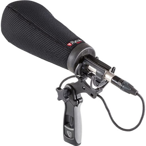 Rycote 033204 18cm Super-Softie, Large Hole (24/25), Premium push-on Windshield with 3D-Tex™