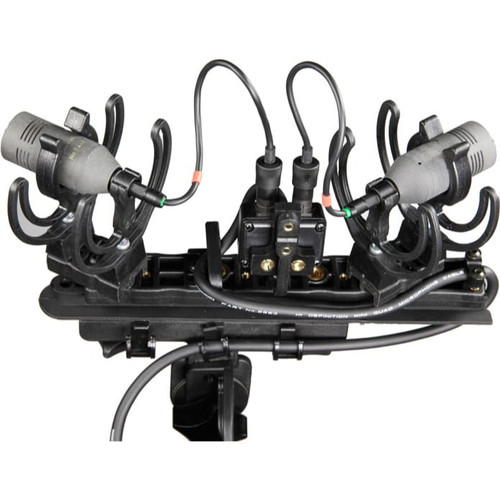 Rycote 080212 ORTF Windshield Kit LEMO, Includes Suspension, Strereo Lemo Connbox, Windshield and Windjammer (For pair of Schoeps CCM 4L)