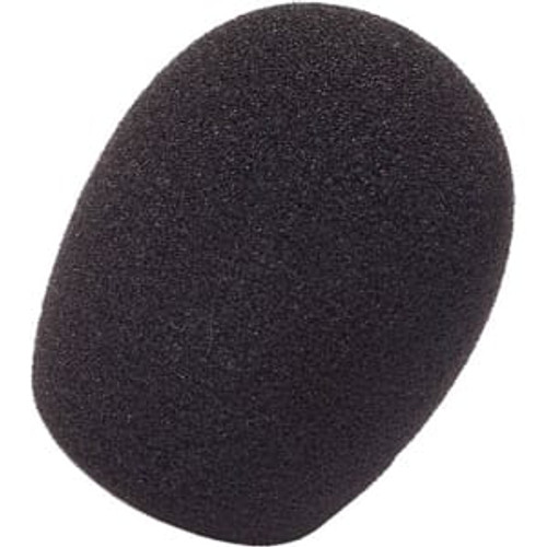 Rycote 103106 5cm Standard Hole SGM Foam (19/22) Windscreen, Black, (10 Pack)